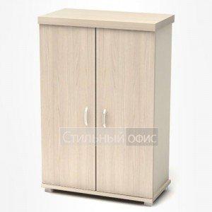 Шкаф низкий закрытый в кабинет руководителя К82