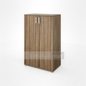 Шкаф средний широкий закрытый в кабинет НТ-480 НТ-601.2