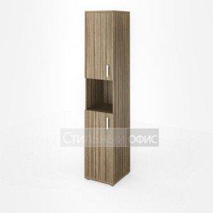 Шкаф узкий высокий с нишей
