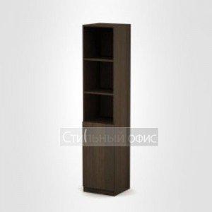 Шкаф офисный узкий полузакрытый 3П.005.2 Алсав