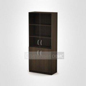 Шкаф офисный высокий со стеклом 3Ш.005.3 Алсав