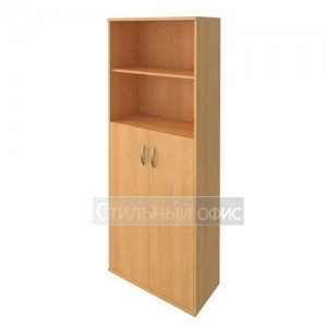 Шкаф полузакрытый с деревянными дверками