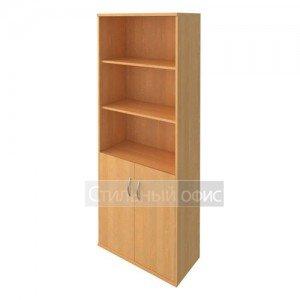 Шкаф полузакрытый с низкими деревянными дверками