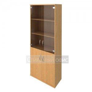 Шкаф полузакрытый со стеклянными дверками