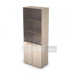 Шкаф офисный со стеклом для руководителя 4Ш.005.3