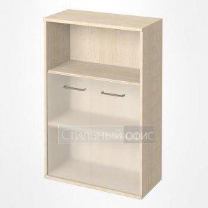 Шкаф средний широкий с матовым стеклом KST-2.2