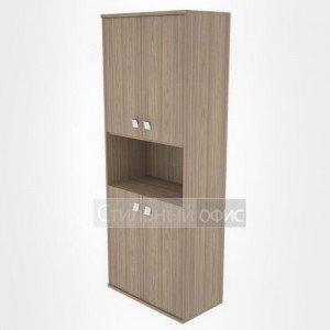 Шкаф высокий широкий полузакрытый офисный Л.СТ-1.5