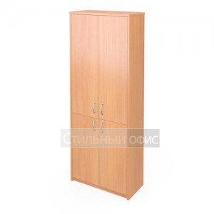 Шкаф широкий закрытый с 4 дверками