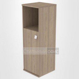 Шкаф средний узкий полузакрытый офисный Л.СУ-2.1