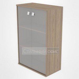 Шкаф средний широкий закрытый со стеклом Л.СТ-2.4 Riva