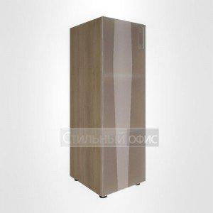 Шкаф средний узкий закрытый со стеклом для руководителя LT-SU 2.4 L/R Riva
