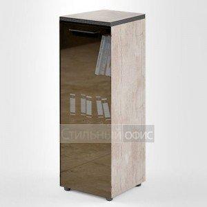 Шкаф средний узкий со стеклянной дверкой TMC 42.2 Skyland