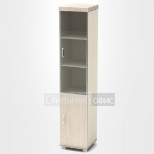 Шкаф узкий со стеклянной дверкой К93