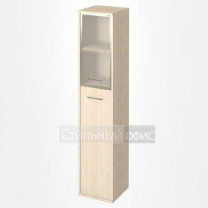 Шкаф высокий узкий со стеклом в рамке KSU-1.7R Лев/Пр Riva