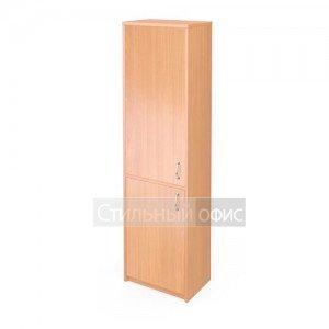 Шкаф узкий закрытый для офиса
