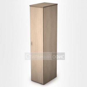 Шкаф в офис для одежды узкий 2Ш.012 + 2Ф.005 Алсав