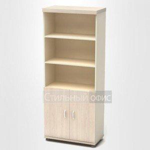Шкаф высокий полузакрытый в кабинет руководителя К67