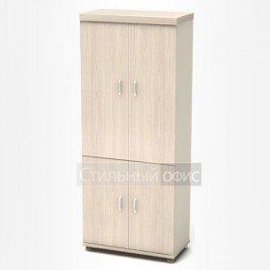 Шкаф высокий с дверками в кабинет К65