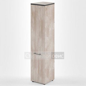 Шкаф высокий узкий с высокой дверкой