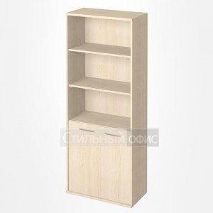 Шкаф высокий широкий с низкими дверками KST-1.1