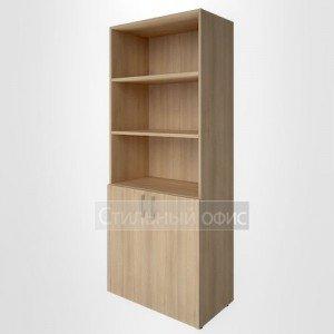 Шкаф высокий широкий с низкими дверками для руководителя LT-ST 1.1 Riva
