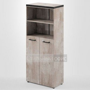 Шкаф высокий широкий со средними дверками THC 85.6 Skyland