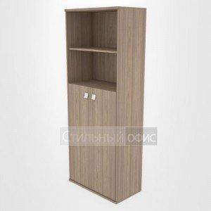 Шкаф высокий широкий со средними дверками Л.СТ-1.6 Riva
