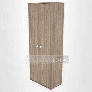Шкаф высокий широкий закрытый офисный Л.СТ-1.9 Riva
