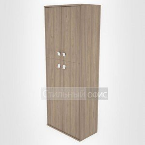 Шкаф высокий широкий закрытый с дверками Л.СТ-1.8 Riva