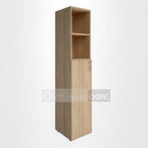 Шкаф высокий узкий со средней дверкой для руководителя LT-SU 1.6 L/R Riva