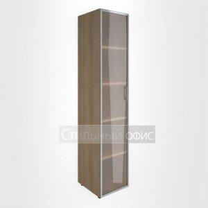 Шкаф узкий с высокой стеклянной дверью в раме LT-SU 1.10R L/R Riva