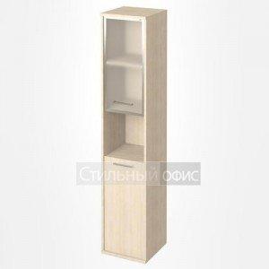 Шкаф высокий узкий с нишей KSU-1.4R Лев/Пр
