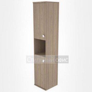 Шкаф высокий узкий полузакрытый Л.СУ-1.5 Riva
