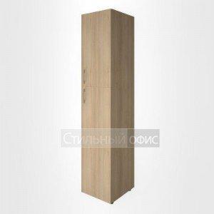 Шкаф узкий с низкой и средней дверками LT-SU 1.8 L/R Riva