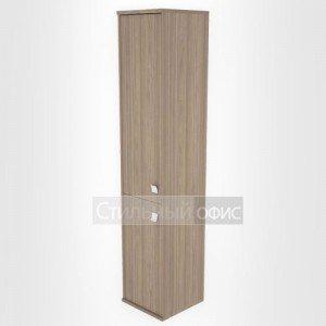 Шкаф высокий узкий закрытый с 2 дверками Л.СУ-1.3 Riva