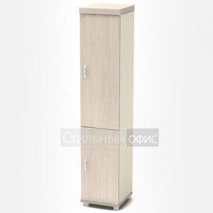 Шкаф высокий узкий с дверками К90