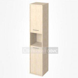 Шкаф высокий узкий с нишей KSU-1.5 Лев/Пр Riva