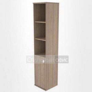 Шкаф высокий узкий с низкой дверкой Л.СУ-1.1