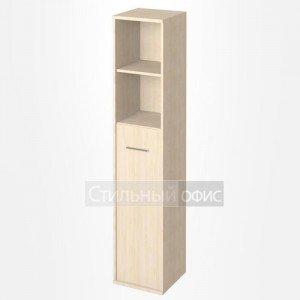 Шкаф высокий узкий со средней дверкой KSU-1.6 Лев/Пр