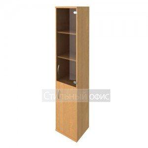 Шкаф высокий узкий со стеклянной дверкой А.СУ-1.2 Riva
