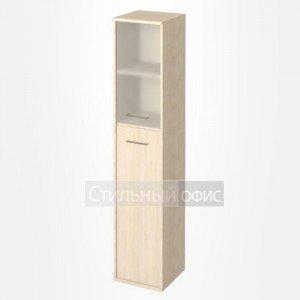 Шкаф высокий узкий со стеклом KSU-1.7 Лев/Пр Riva