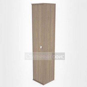 Шкаф высокий узкий закрытый офисный Л.СУ-1.9