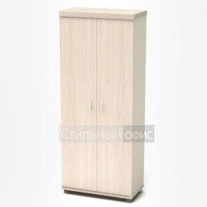 Шкаф высокий закрытый в кабинет руководителя К66