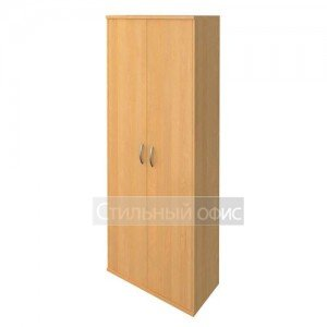 Шкаф закрытый с дверками в офис
