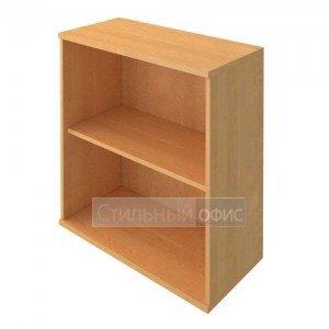 Стеллаж низки широкий деревянный в офис