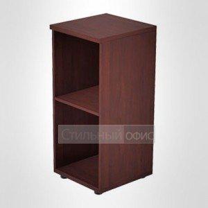 Стеллаж офисный низкий узкий в кабинет руководителя 41.35.К.x