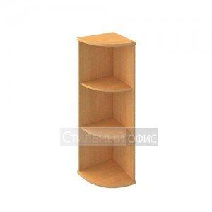 Стеллаж средний угловой деревянный в офис