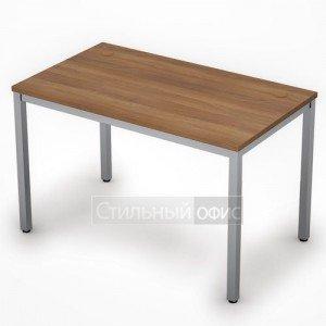 Стол на металлокаркасе прямой средний