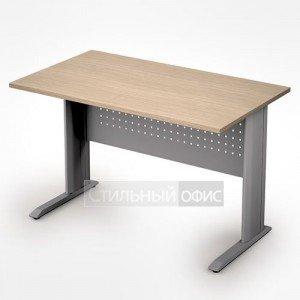 Стол на металлокаркасе прямой в офис