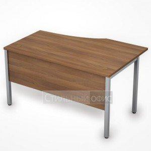 Стол эргономичный на металлокаркасе с экраном левый 6МД.022 Алсав